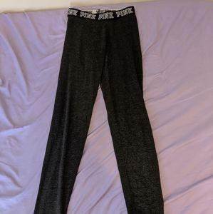 Gray PINK leggings